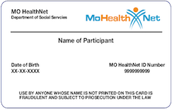 Missouri Medicaid Card