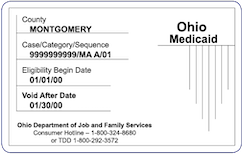 Ohio Medicaid Card
