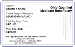 Ohio Qualified Medicare Beneficiary Card