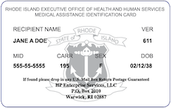 Rhode Island Medicaid Card