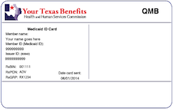 Texas Medicaid Card
