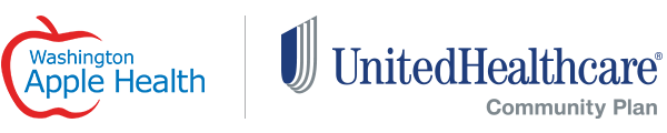 Washington Apple Health / UnitedHealthcare logos